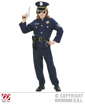 Kostüm Polizist - Zweiteiler Größe 128