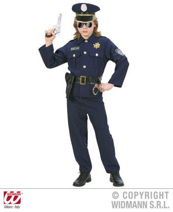 Kostüm Polizist - Zweiteiler Größe 140