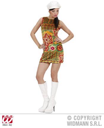 Kostüm 60er Jahre Kleid Größe M