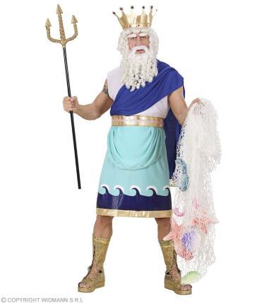 Poseidon Kostüm Neptun Meeresgott - Neptun griechischer Gott