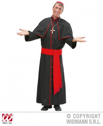 Kostüm Kardinal Größe XL - Cardinal Verkleidung