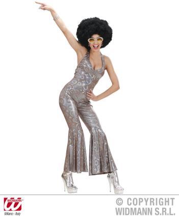 70 er Jahre Overall Disco Queen Gr. M Kostüm Discothek 60ties  Gr. M