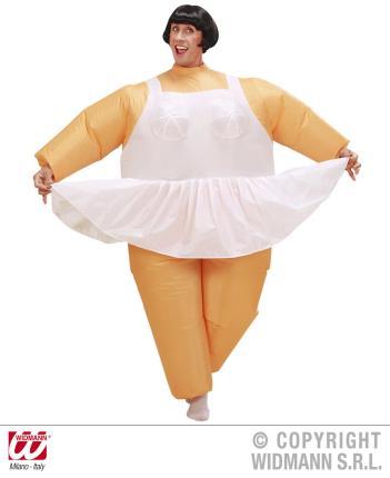 Aufblasbares Kostüm Ballerina  Tänzerin - Balletttänzerin - Tanzen - Fasching