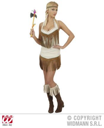 Indianerin Squaw Kostüm Gr. L  Indianer Western Squawkostüm Gr L