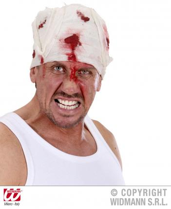 Blutiger Kopfverband Halloween