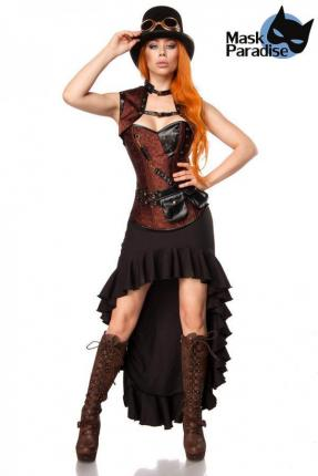Mask Paradise Steampunk M - XL Lady Kostüm  Steam Punk Gr. XL