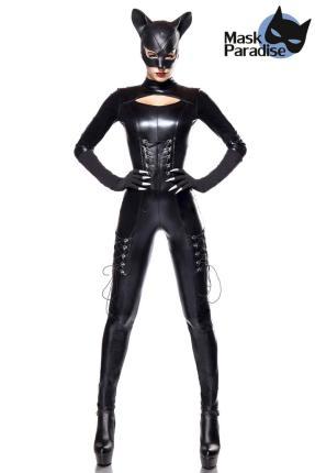 Cat Lady  Kostümset -  sexy Catwoman Katze  Mask Paradise Gr. 2XL/3XL