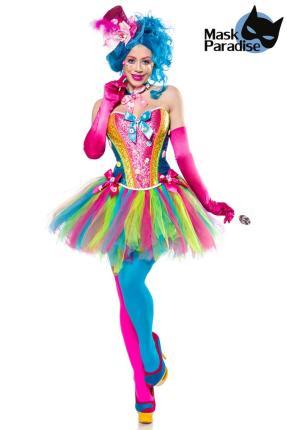 Mask Paradise Candy Girl mehrteiliges Kostümset für Damen Gr. 3XL