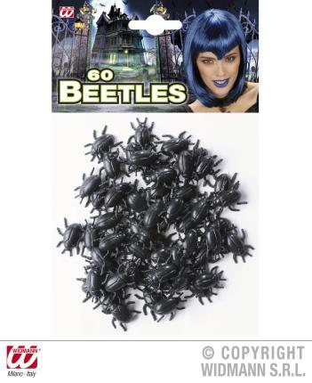 60 Käfer im Set - Halloween