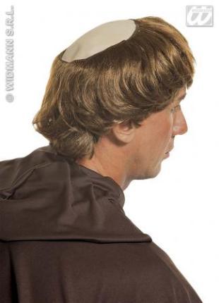 Mönch Halbglatze mit Haarkranz