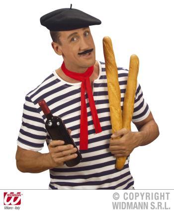 Franzosenmütze - Mütze Barett - Franzosen Mütze - Baskenmütze