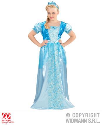 Schneeprinzessin - Eisprinzessin Kostüm - Prinzessin Gr. 116 cm 4-5 J