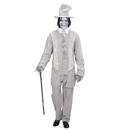 Geisterkostüm Geisterbräutigam Halloween Gr. L  Gentleman Geist