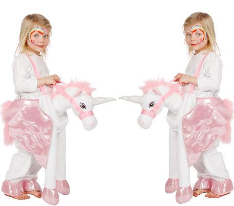 Wilbers Einhorn Kostüm für Kinder 128 cm - Einhron Verkleidung Kind