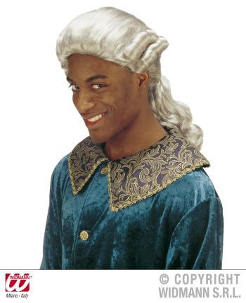 Marquis de Sade - Perücke mit grauem Haar