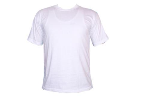 Weiße Herren T-Shirt T-Shirts Gr. XL
