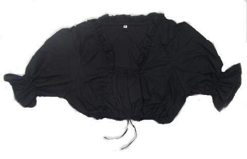 Trachten Dirndl Bluse in schwarz Gr. 48 - Blusen