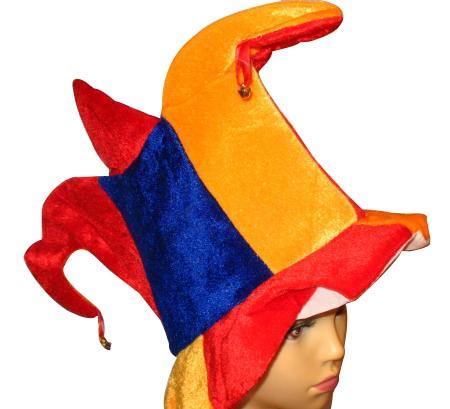 Kinder Faschingshut - Karnevalshut - Fasnet - Hut mit Glöckchen