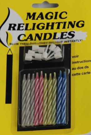 10 kleine Kuchen Kerzen - Magische Kerzen