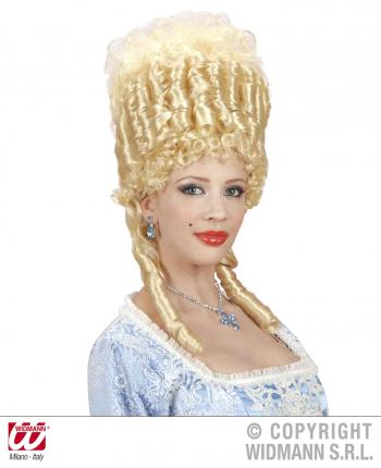 Exklusive Rokoko Perücke Marie Antoinette blond - Mittelalter Peruecke