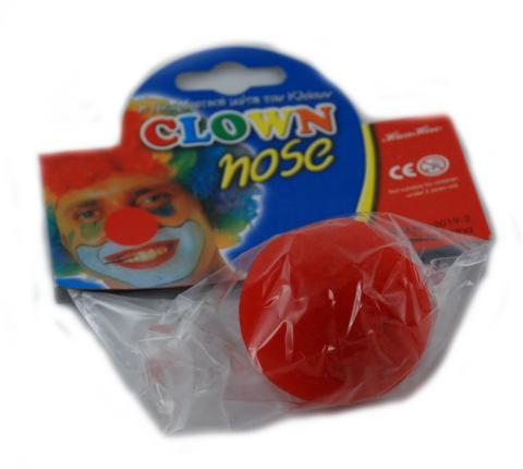 Clown Nase rot - rote Nase für Clown