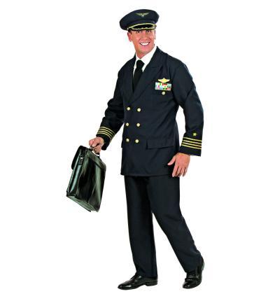 Kostüm Pilot Größe M Pilotenkostüm Flugkapitän