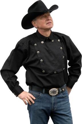 Country Westernhemd  John Wayne von Running Bear Größe S - Cowboyhemd