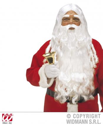 Santa Claus Perücke -  Weihnachtsmann Perücke de luxe