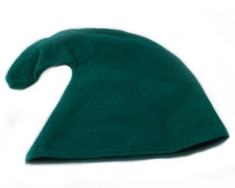 Zwergenmütze  für Kinder  - Zwergen Mütze Kind - Gnommütze Kinder Mützen grün