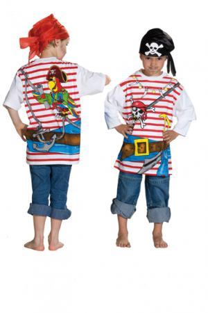 Spieleshirt Piratenshirt Pirat Gr 140