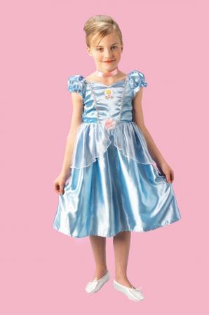 Kost�m Cinderella Prinzessin 7-8 Jahre