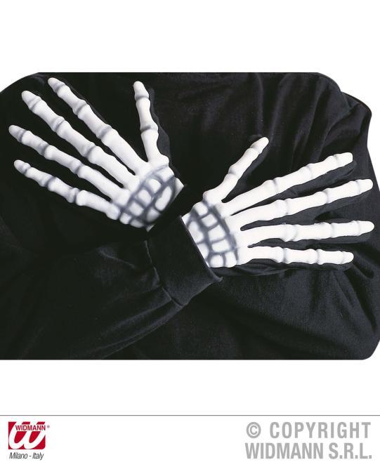 Skelett Handschuhe - Knochenhandschuhe