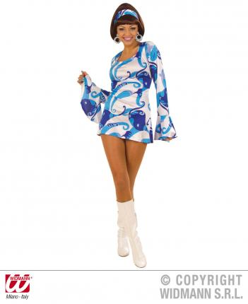 70er kleid fasching