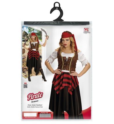 Kostum Piratin Piratenbraut Gr Xl Piratenkostum Fasching Scherzwelt