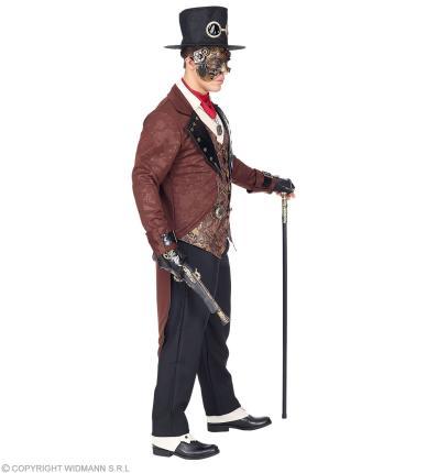 Steampunk Herrenkostüm Retro Gentleman Kostüm Steam Punk Gr. M