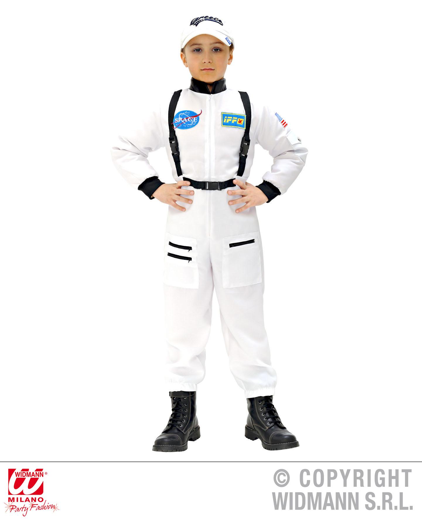 astronauten kost m astronaut gr e 140 kosmonaut raumfahrer sputnik anzug scherzwelt. Black Bedroom Furniture Sets. Home Design Ideas