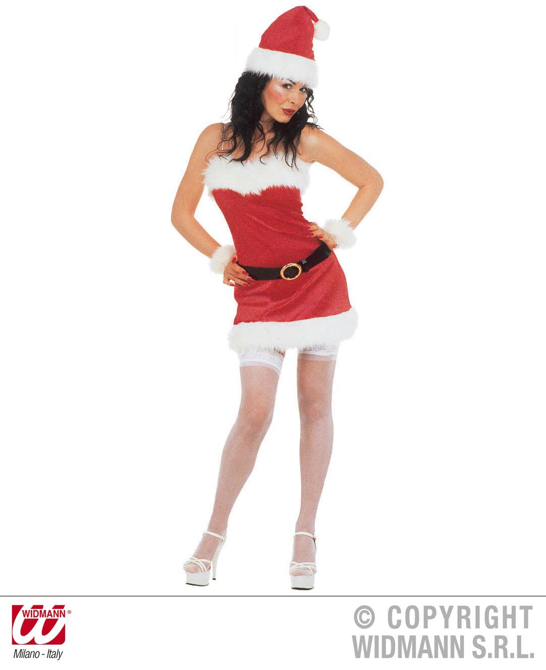2a4e7783e8a29 Weihnachtsfrau Kostüm Sexy S - Miss Santa Fasching Gr. S