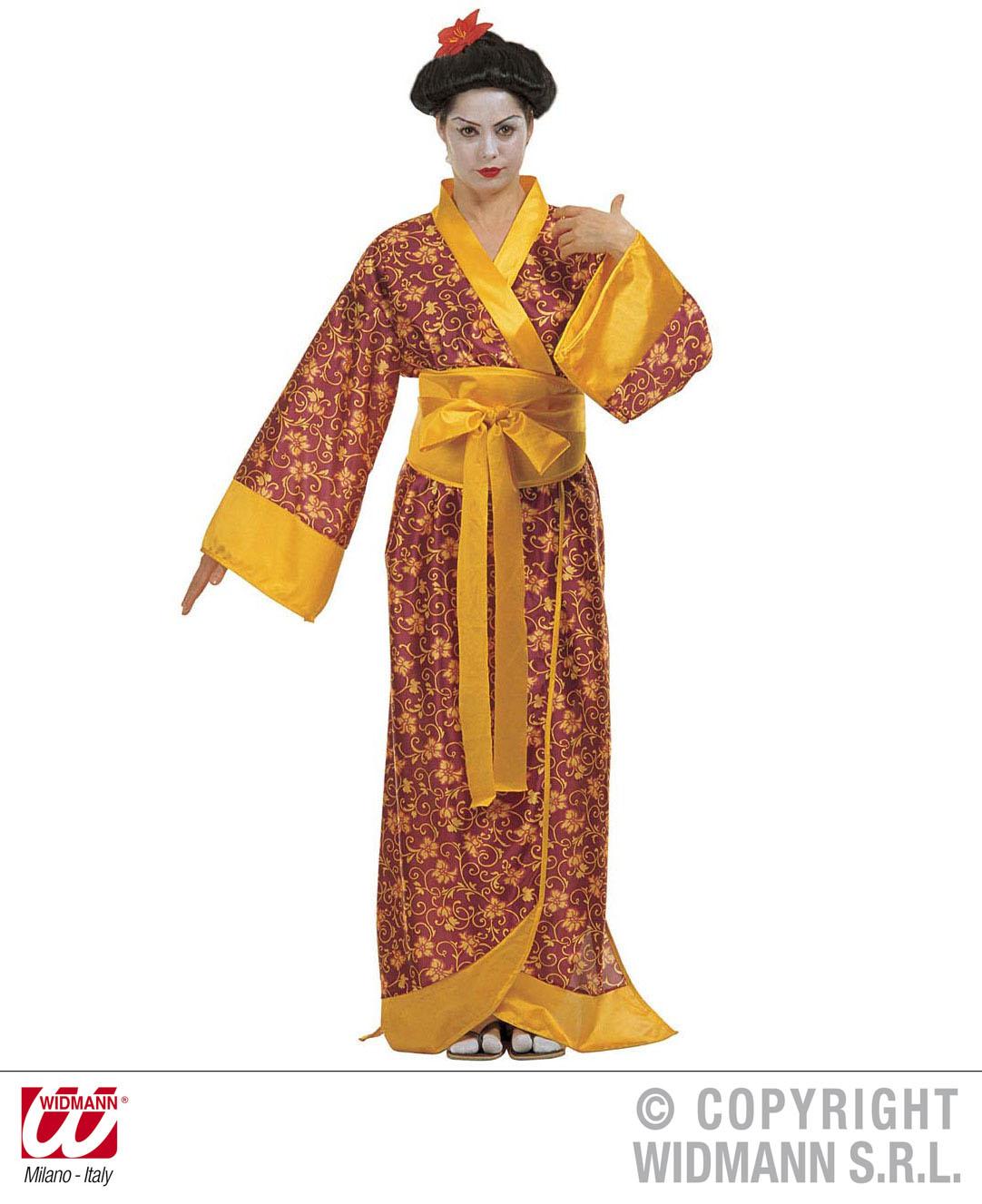 geisha japanerin kimono kost m kyoto gr m scherzwelt. Black Bedroom Furniture Sets. Home Design Ideas