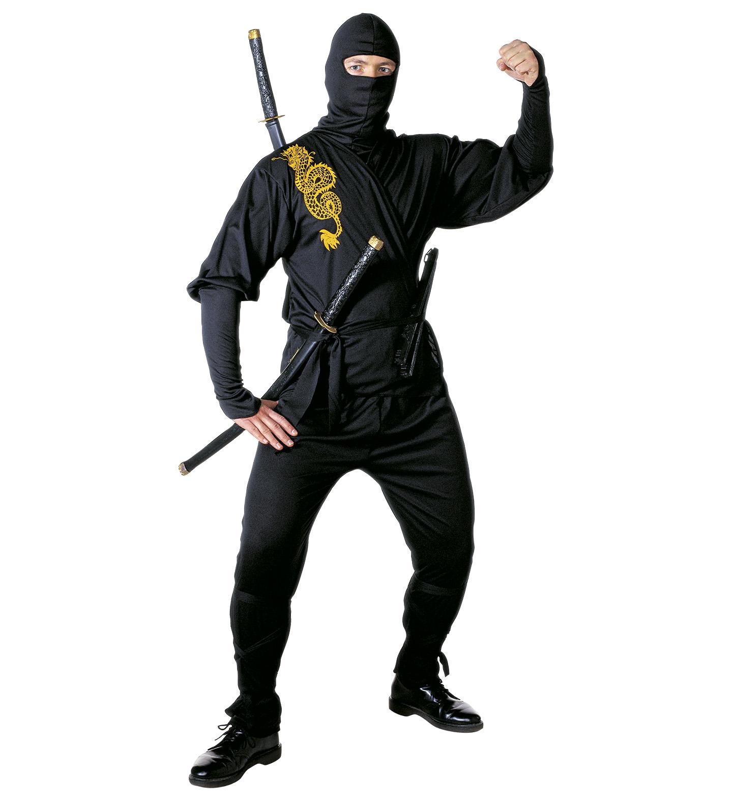 ninja kost m samurai verkleidung gr s scherzwelt. Black Bedroom Furniture Sets. Home Design Ideas
