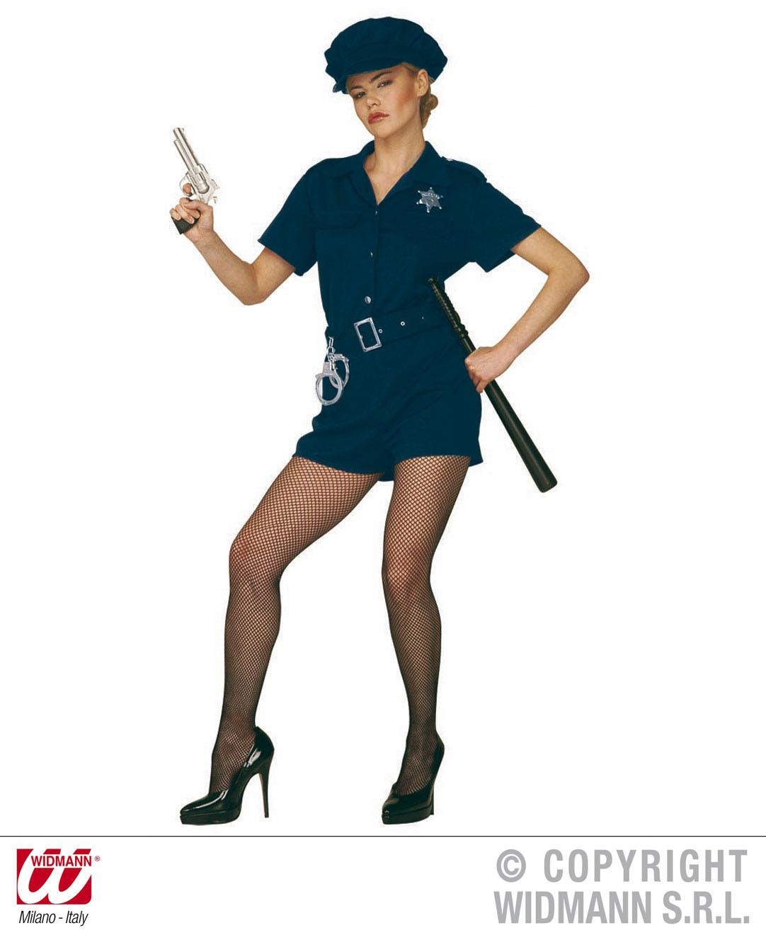 Kostum Polizistin Cop Grosse S Uniform Damen Polizei Scherzwelt