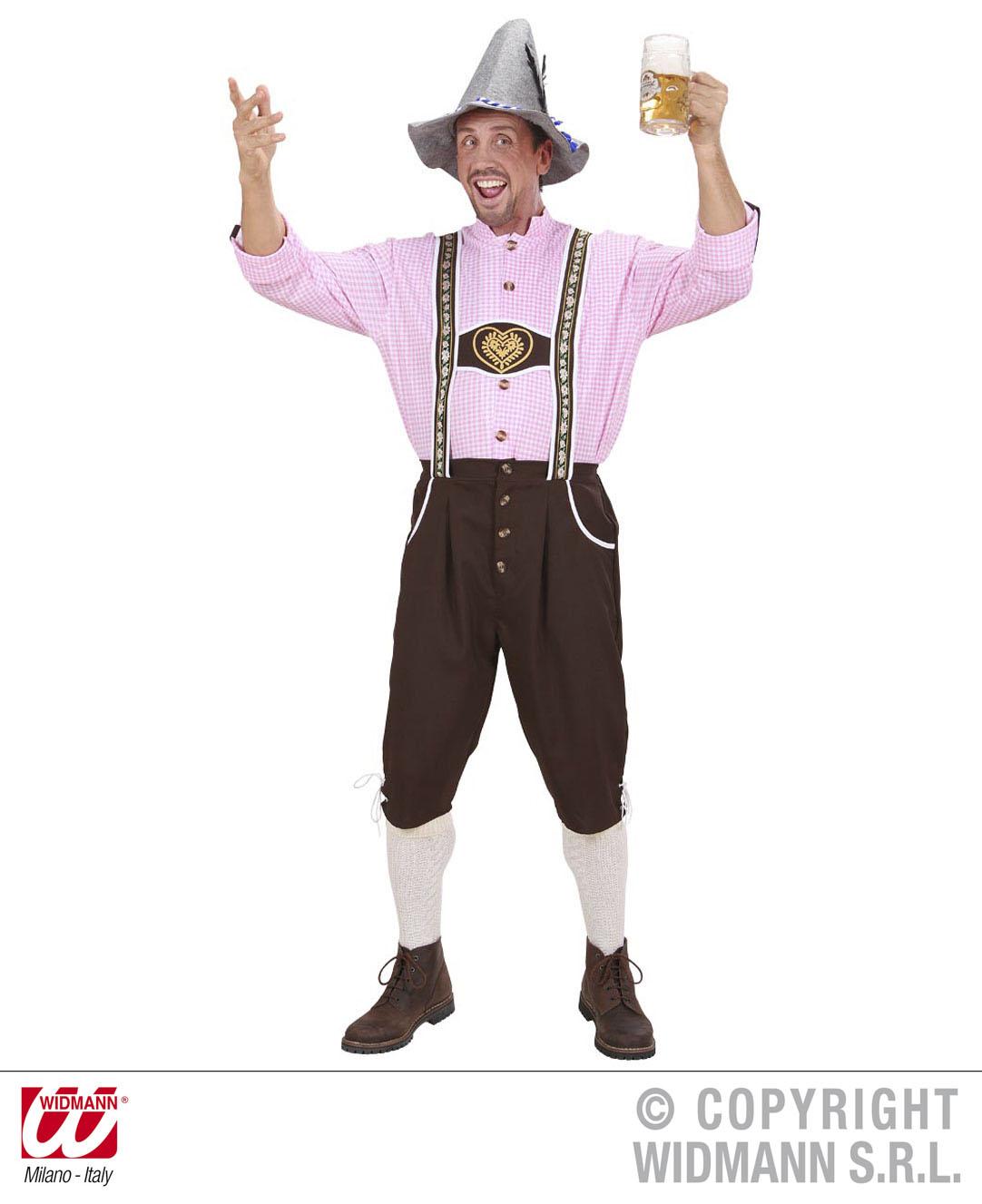 Trachten Kostüm Bayrischer Mann Gr. XL - Oktoberfest