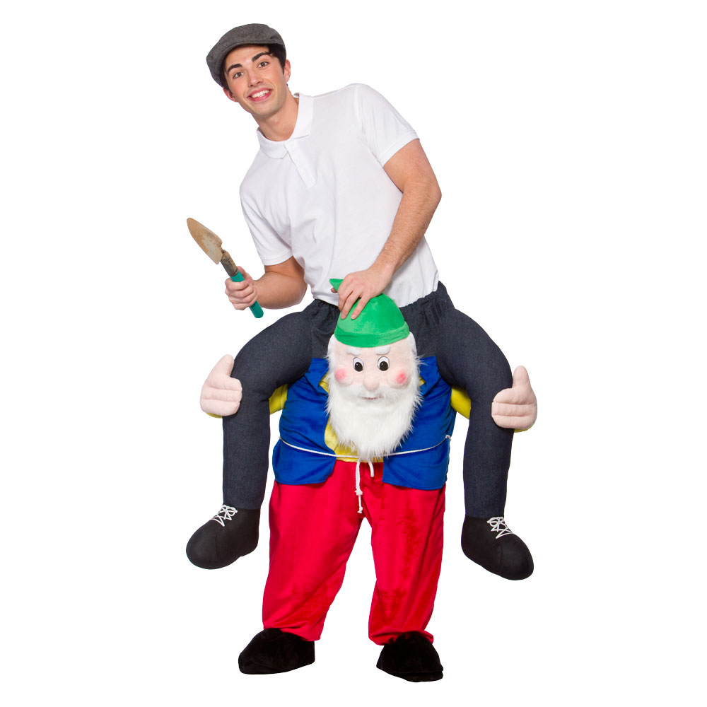 Carry Me Zwergenkostum Gnome Dwarf Verkleidung Scherzwelt