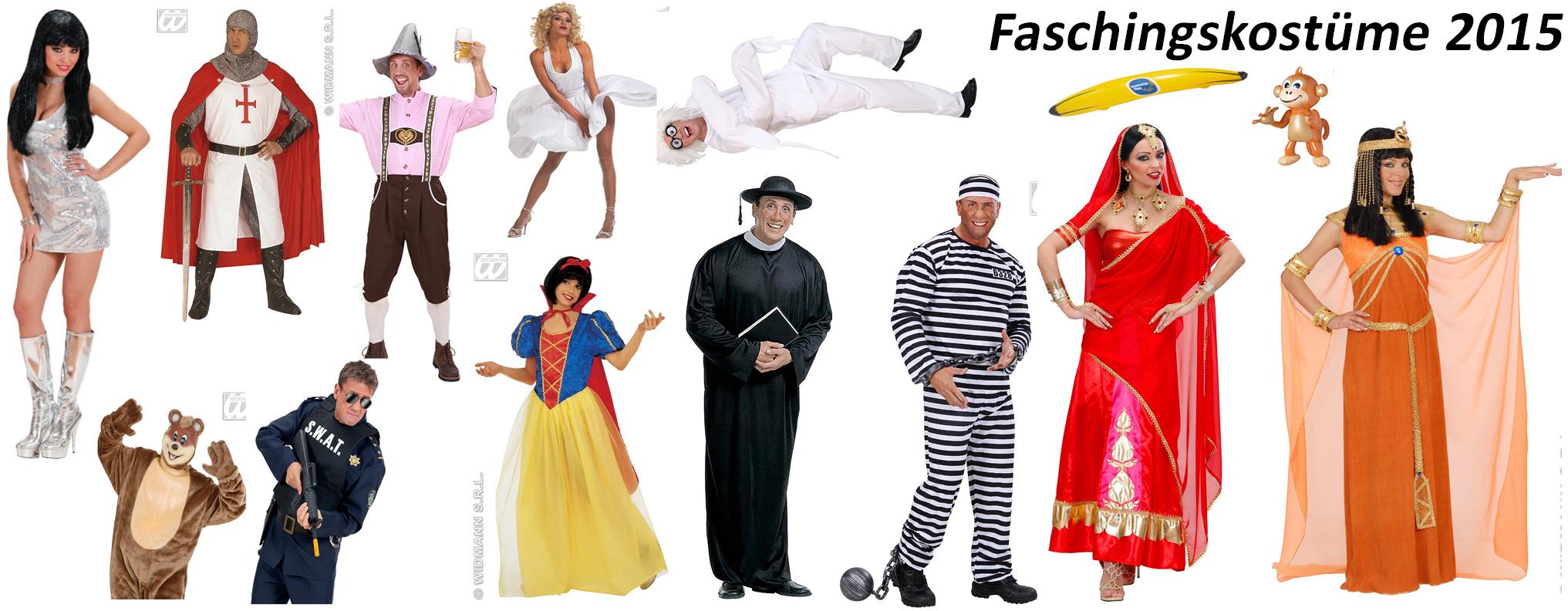 Banner Faschingskost�me 2015